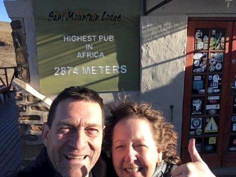 Selfie at the Highest Pub!😍